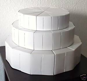tiered wedding cake boxes 3 tier cake slice favors box boxes wedding shower baby 20971