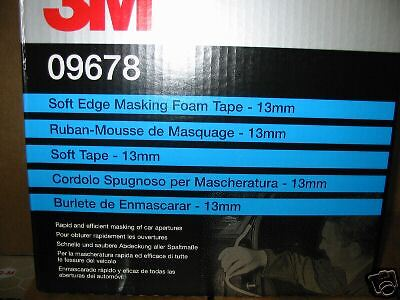 3 KARTON 3M Soft-Tape 09678  13mm
