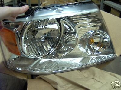 NEW OEM FORD F150 LINCOLN MARK LT HEADLAMP HEADLIGHT DRIVER SIDE 7L3Z-13008-GA