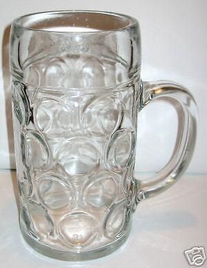 Masskrüge aus Glas Literkrüge Bierkrüge Mass ab Großlager Masskrug DHL Versand