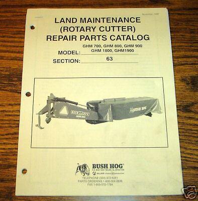 Bush Hog Rotary mower manual