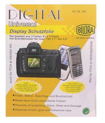 DISPLAY-SCHUTZFOLIE- für Kamera, Handy, PDA, Mini-TV ua