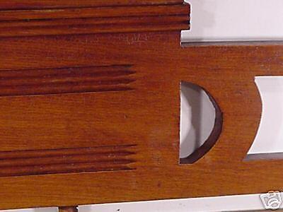 Jugenstil  Arts & Crafts Hand Carved Wood Crown Topper Mantel Molding Antiques 6