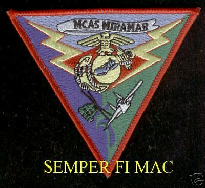 USMC Marine Corps Air Station Miramar MCAS Miramar Patch NEW!!!