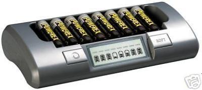 Euro Plug Maha MH-C800S AA/AAA Smart Battery Charger Powerex